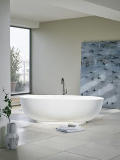 Things to consider when choosing a freestanding bath. Material, shape and size.