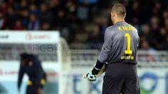 Valdés, FC Barcelona | Real Sociedad 3-2 FC Barcelona. [19.01.13]