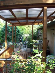 awning over deck - Google Search