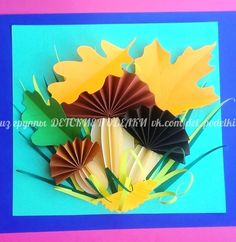 Image may contain: flower Art Activities For Kids, Autumn Activities, Art For Kids, Paper Crafts For Kids, Diy And Crafts, Arts And Crafts, Autumn Crafts, Autumn Art, Fall Art Projects
