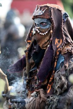 Orishas shaman (post-apocolyptic fashion, not an actual santería spiritual worker)