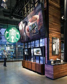 Starbucks Coffe Oregon / A.R.E. - Association for Retail Environments / Social Connection
