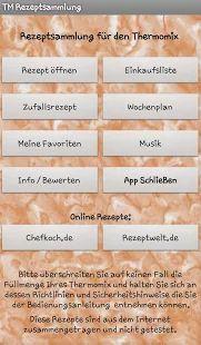 Thermomix Rezeptsammlung – Miniaturansicht des Screenshots Apps, Google Play, Planer, German Recipes, New Recipes, Easy Meals, Thermomix, App