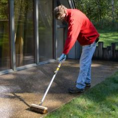 For long-lasting concrete crack repair, fill wide cracks with foam backer rod before caulking. And use a caulk formulated for concrete. Garage Floor Resurfacing, Concrete Resurfacing, Spalling Concrete, Concrete Garages, Concrete Filler, Cement, Concrete Walkway, Concrete Planters, Remove Rust From Concrete