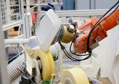 Roboterverputzen, Herstellung, Kahla Porzellan