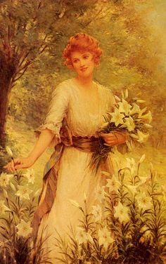 Picking Wild Flowers, Sydney Kendrick