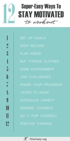 New Year - New You! So you want to become stronger, fitter, better and you feel you could move the mountains? Let me help you keep your motivation up!