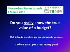 This would be good to know! www.moneygemstones.com