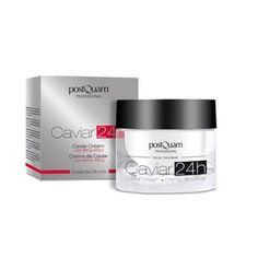 Benefícios: - Reestrutura a capa superficial da pele - Ativa a regeneração celular - Combate ativamente o envelhecimento - Aporta vitalidade ao rosto - Pele mais jovem, suave e luminosa Composição: > Extrato de caviar: princípio ativo com fosfolipídios e