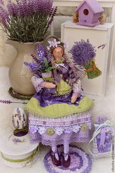 Купить Лавандовое Утро..... - сиреневый, лаванда, лавандовый, лавандовый цвет, Лавандовый ангел, феечка, фея
