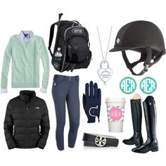 Trying Horses: New England - Polyvore
