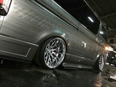 That fitment though. Toyota Van, Toyota Hiace, Custom Cars, Vans, Busses, Instagram Posts, Wheels, Trucks, Asian