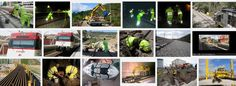 SGSST | Sustitución de carril-Ergonomía en el sector de la construcción,