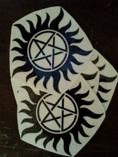 Supernatural AntiPosession Temporary Tattoo by TheRageCrafts, $2.50