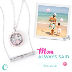 There's nobody like Mom! Give her an Origami Owl Living Locket filled with charms that tells her story or give her our new Inscriptions Silver Hexagram for Mother's Day. Write your own story in your own words with a custom inscribed Inscriptions jewelry piece. Engrave a short quote, phrase, or name, it's up to you! SHOP StoriedCharms.com