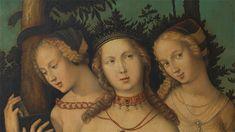 Hans Baldung Grien Harmony (The Three Graces?). Detail (1541-1544)