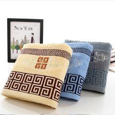 Jacquard de algodão puro bordado toalha de banho 70 * 33 cm 96 * 50 cm 128 * 70 cm engrossado proteção ambiental toalha em Toalhas de Casa & jardim no AliExpress.com | Alibaba Group