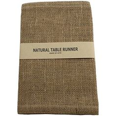 Burlap Jute Table Runners Set of 2 -14 X 72 Natural Kel Toy…