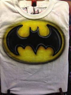 Batman Airbrush Shirt by favresfinedesigns.com