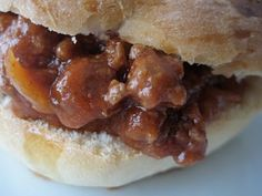 A Bountiful Kitchen: Sloppy Joes with Homemade Hamburger Buns