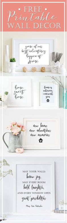 May your walls know joy, may every room hold laughter and every window open great possibilities - Home decor quote - FREE home printable decor - Great gift idea - Little Blonde Mom Blog #blogger #printables #homedecor #home