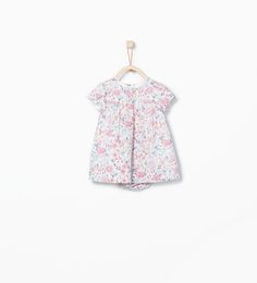 Image 1 of Floral dress and underwear from Zara
