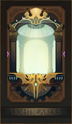 ArtStation - AFK Arena UI, Aric Athesis Game Card Design, Character Art, Character Design, Card Ui, Dnd Art, Art Station, Fanart, Fantasy Inspiration, Pixel Art