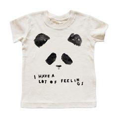 Kid + Kind - panda feelings T-shirt