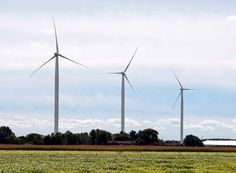 Michigan's largest wind farm goes online June 2012 with enough energy to power 50,000 homes.