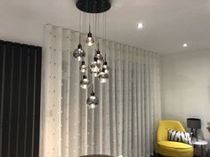 made to measure curtains made for our clients beautiful homes for more info email amanda@amandabakersofturnishings.co.uk Beautiful Kitchens, Beautiful Homes, Wave Curtains, Pelmets, Made To Measure Curtains, Roman Blinds, Soft Furnishings, Amanda, Chandelier