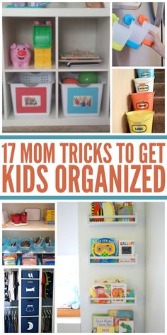These tips on organizing kids things will come in handy in the future! - One Crazy House