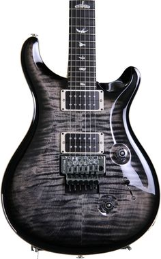 PRS Floyd Custom 24 - Charcoal Burst, Figured Top | Sweetwater.com