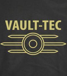 Vault Tec (Fallout)T-Shirt I'll take this shirt as well Fallout Theme, Fallout Art, Fallout New Vegas, Fallout Logo, Fallout Posters, Fallout Props, Fallout Tattoo, Fallout 4 Vault Tec, Videogames