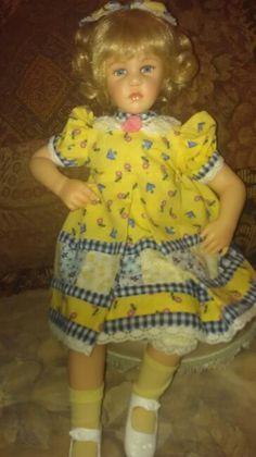 Richard Simmons doll with Ottoman.