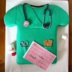 Medical cake Medical Cake, Fondant, Washer Necklace, Cakes, Food, Cake Makers, Kuchen, Cake, Pastries