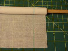 Jan's Smocking Blog: Pleating a Bonnet