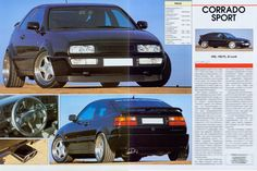 VW Corrado VR6 - Tuning (2 Seiten) [743]   eBay