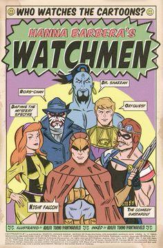 Hanna Barbera's Watchmen