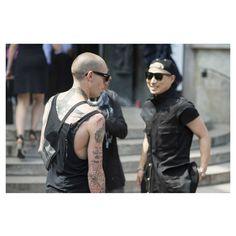 LubakiLubaki | #AlexandreGaudin  Men During #PFW  www.lubakilubaki.com by Alexandre Gaudin  #StreetStyle #Man #Street #Style #Photo #NoFilter #FashionPost #Outfit #OutfitOfTheDay #Detail #UrbanFashion #Dark #AllBlack #StreetFashion #Mode #Moda #Fashion #FashionWeek #FashionWeekParis #FW16 #Menswear #BorisBidjanSaberi #Paris http://ift.tt/2aBsZ8s