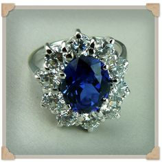 Princess Diana's engagement ring, now worn by Princess Kate