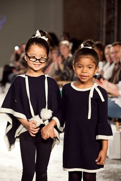 VOGUE BAMBINI FASHION SHOW NYC: Baby CZ FW12 Collection