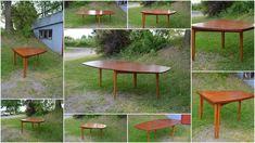 4 Sale on Finn.no Teak Furniture, Retro Furniture, Classic Furniture, Furniture Design, Vintage Interior Design, Retro Design, Vintage Designs, Dining Chairs, Dining Table