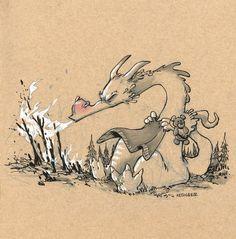 Sweet Dragons by Brian Kesinger
