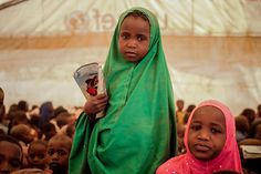 First day of school for somali #refugee children at #Dadaab refugee camp, 5th Sept, 2011.
