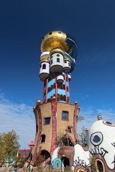 Hundertwasser Architecture.    Softening corners