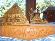 Egyptian Wedding Cake www.cakesvictoria.com