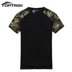 Aliexpress.com: Comprar Hombre Casual Army Tactical Combat Camuflaje T shirt de Algodón para Hombres T camisa de Deporte Militar…