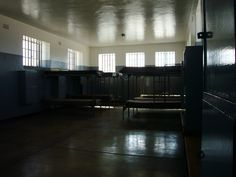 Inside Robben Island prison in South Africa Cape Town South Africa, Nelson Mandela, Former President, Africa Travel, Prison, Places Ive Been, To Go, Memories, Island