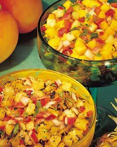 Grilled Pineapple Salsa!