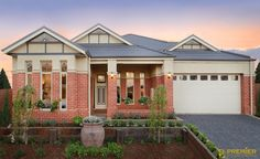 Premier Builders Group - The Camberwell Period/Edwardian Facade (as displayed) Brickwork, Home Reno, Home Builders, House Plans, New Homes, Exterior, House Design, Mansions, Architecture